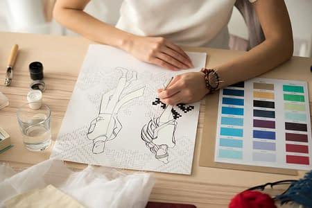 Иллюстрация в сфере моды. Фэшн-рисунок
